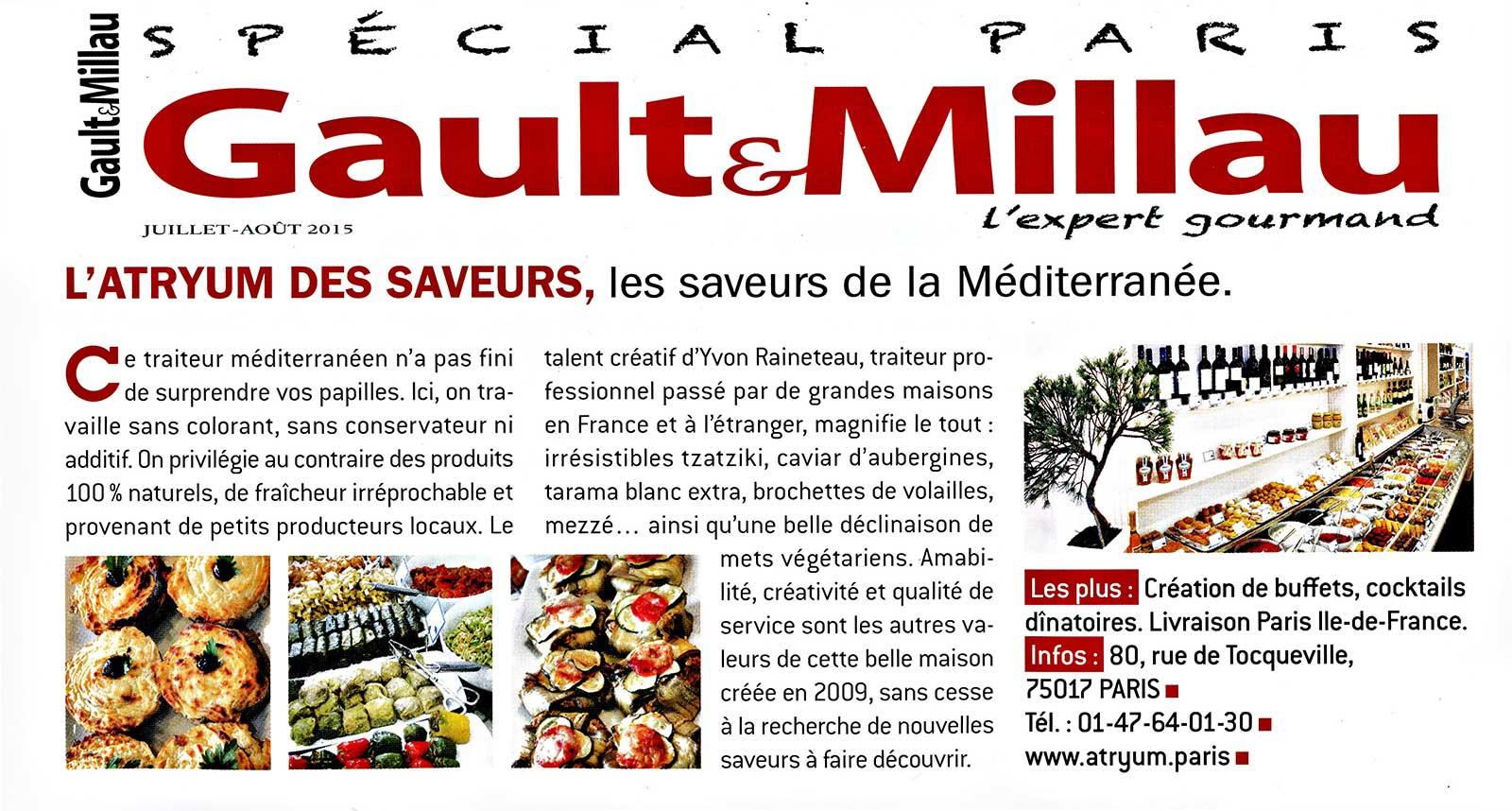 Gault & Milau 2015 - spécial Paris